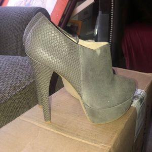 Just fab gray heels